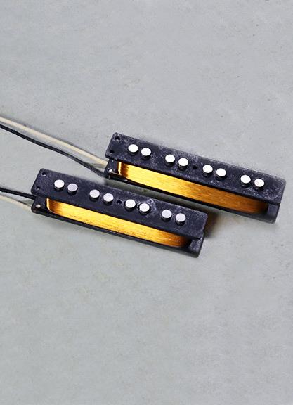 Jazz Bass Fralin Pickups